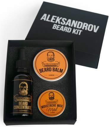 Набор для стимуляции роста бороды ALEKSANDROV №05
