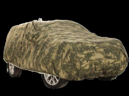 Тент чехол для автомобиля КОМФОРТ для ГАЗ 31105 Волга