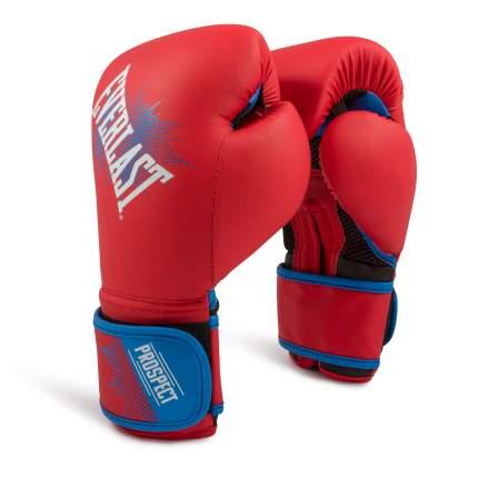 Боксерские перчатки детские Everlast Prospect красные 8 унций