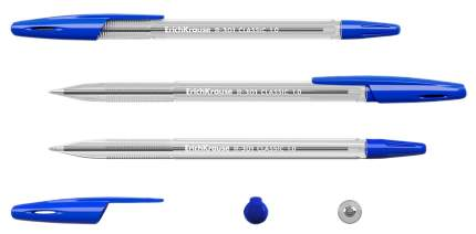 Ручки ErichKrause R-301 шариковые синие 4шт