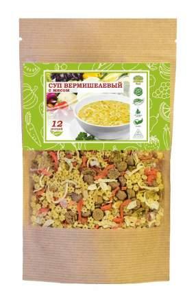 Суп вермишелевый Organic Food с овощами и мясом 12 порций 160 г