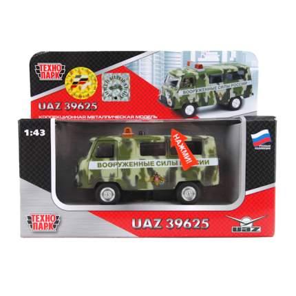 Машина военная Технопарк UAZ 39625 1:43