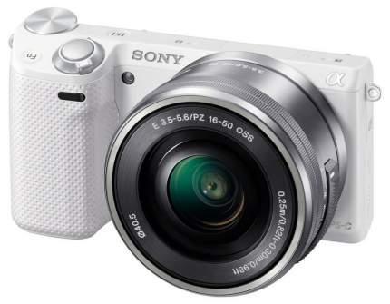 Фотоаппарат системный Sony Alpha NEX-5R Kit 16-50 White