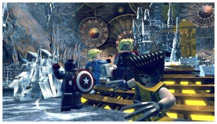 Игра LEGO Marvel Superheroes для PlayStation 4