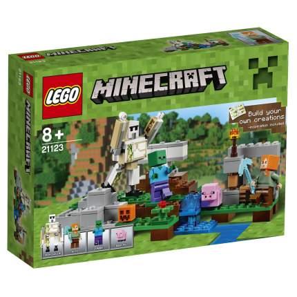 Конструктор LEGO Minecraft Железный голем (21123)