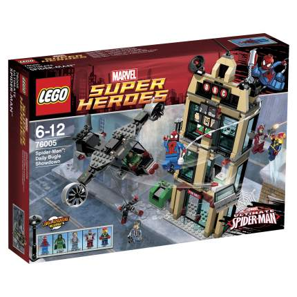 Конструктор LEGO Super Heroes Человек-Паук: Решающий бой у Дэйли Багл (76005)