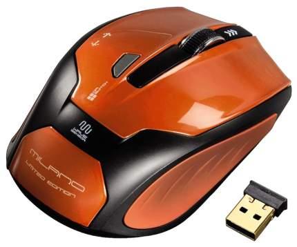 Мышь Hama H-52390 оранжевый/черный оптическая (1600dpi) беспроводная USB
