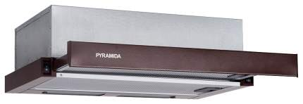 Вытяжка встраиваемая Pyramida TL 60 SLIM Brown