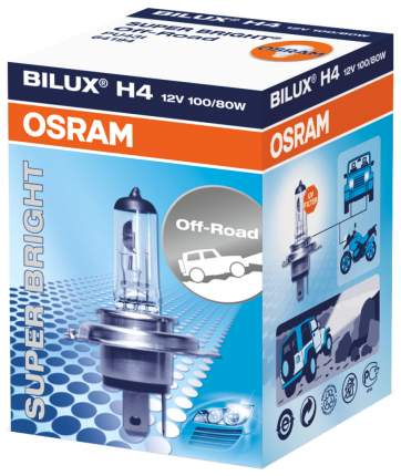 Лампа галогенная автомобильная OSRAM Н4 100W (64194SB)