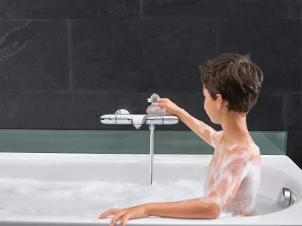 Смеситель для ванны Grohe Grohtherm 1000 New 34155003 хром