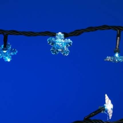 """Гирлянда SNOWMEN """"Снежинка"""", 140 ламп, 8,7 м. (Е50542)"""