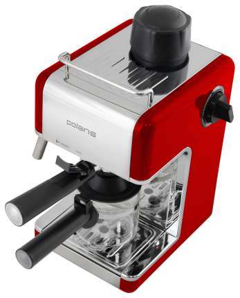 Рожковая кофеварка Polaris PCM 4002A Red