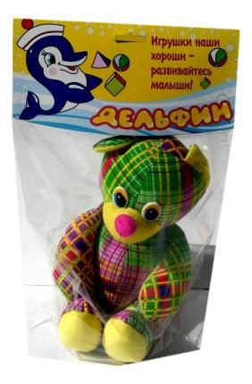Мягкая игрушка Дельфин Д-24-10-11 Мишка Пуговкин