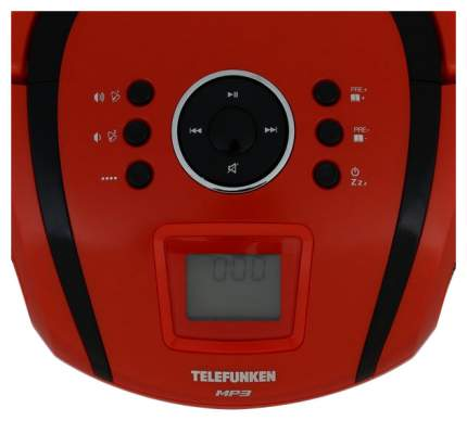 Магнитола Telefunken TF-SRP3451 Red/Black