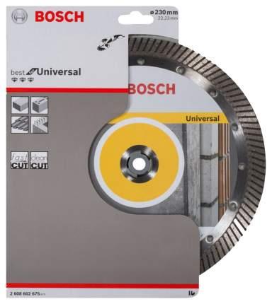 Алмазный диск Bosch Bf Universal230-22,23 2608602675