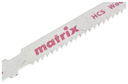 Пилки для лобзика MATRIX по дереву 3 шт T119B, 50 x 2 мм HCS 78228