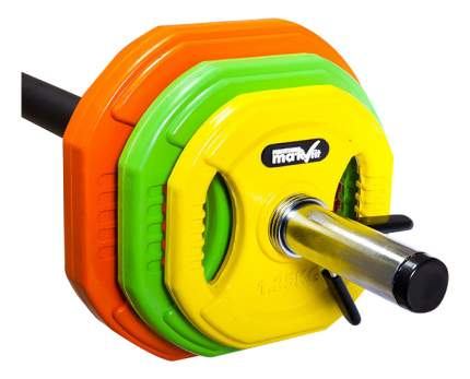 Штанга Skyfit Makfit Mak-BP, гриф прямой 130 см, 20 кг, 25 мм
