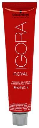 Краска для волос Schwarzkopf Professional Igora Royal 7-0 Средний русый натуральный 60 мл