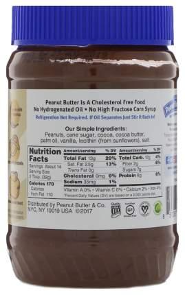 Арахисовая паста Peanut Butter&Co dark chocolate dreams ваниль 454 г
