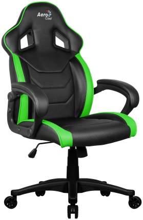 Игровое кресло AeroCool AC60C AIR, зеленый/черный