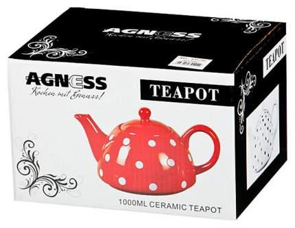 Заварочный чайник Agness 470-290