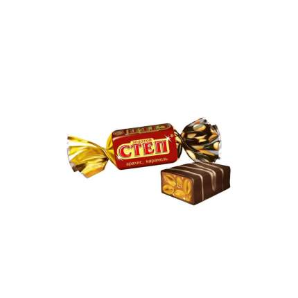 Конфеты Славянка золотой степ глазированные арахис карамель 346 г