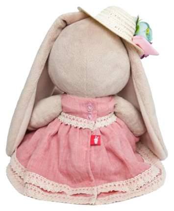 Мягкая игрушка BUDI BASA SidM-256 Зайка Ми в платье и шляпке с цветами
