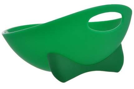 Одинарная миска для кошек и собак ZIVER, пластик, зеленый, 0.5 л