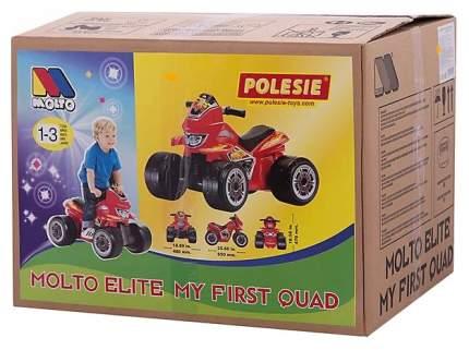 Мотоцикл детский Molto Molto Elite 6 6V красный