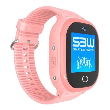 Детские смарт-часы Smart Baby Watch W9 Plus с GPS Pink