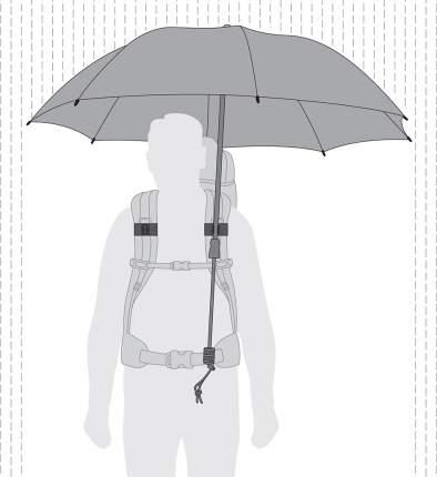 Зонт треккинговый Euroschirm Swing Handsfree темно-синий