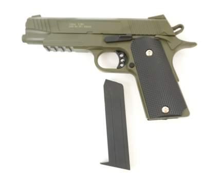 Страйкбольный пружинный пистолет Galaxy  Китай (кал. 6 мм) G.38G (зеленые)