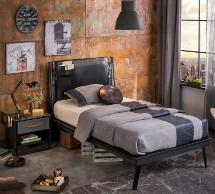 Кровать Cilek Dark Metal 120х200 см, черный