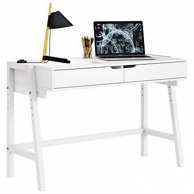 Детский стол письменный Polini kids Mirum 1440 низкий, белый