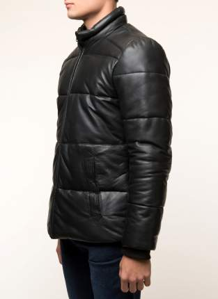 Кожаная куртка мужская Gotthold B1 черная 48 RU