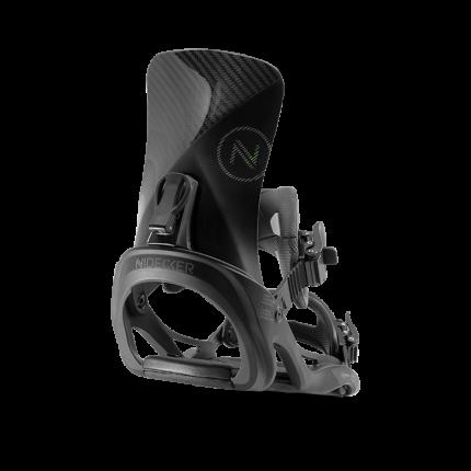 Крепление для сноуборда Nidecker Carbon 2020, черное, L/XL