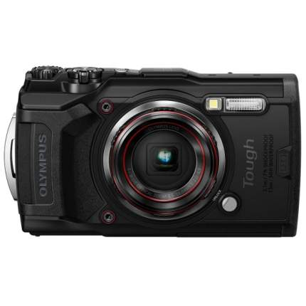 Фотоаппарат цифровой компактный Olympus Tough TG-6 Black