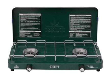 Газовая плитка Tourist Duet двухконфорочная в кейсе
