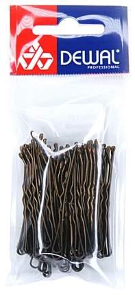 Аксессуар для волос Dewal SLN60V-3/60 60 мм Волна Коричневые 60 шт
