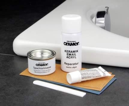 Ремкомплект Cramer для ванн, раковин и душевых кабин, цвет Edelweiss matt (010)