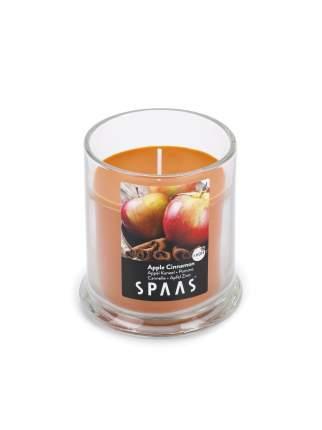 Свеча в стакане АРОМА ПРЕМИУМ Яблоко с