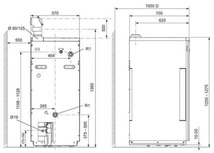 Газовый отопительный котел Vaillant EcoVIT pro VKK 485/5