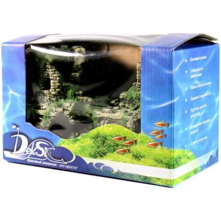 Грот для аквариума DEKSI  Крепость № 201 пластиковый, 22 х 11 х 14 см