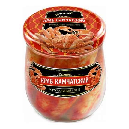 Краб Путина Камчатский натуральный в желе 430 г