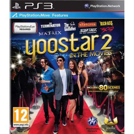 Игра Yoostar 2:In The Movies для PlayStation 3