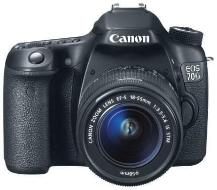 Фотоаппарат цифровой зеркальный Canon EOS 70D Kit 18-55 IS STM Black