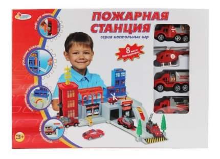 Пожарная станция Играем Вместе с 3 машинами и Вертолетом b829533-r
