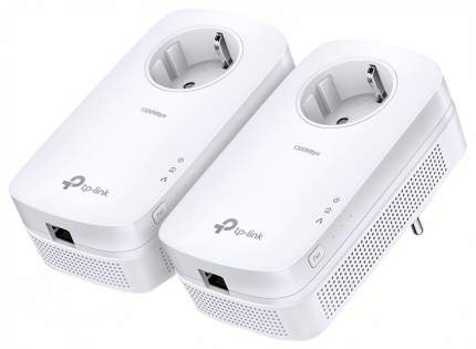 Комплект powerline-адаптеров TP-Link TL-PA8010P KIT AV1200 со встроенной розеткой