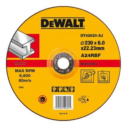Шлифовальный диск по металлу для угловых шлифмашин DeWALT DT42620-XJ