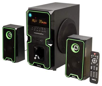 Колонки компьютерные 2.1 Dialog AP-222B 2x10 + 30 Вт черные